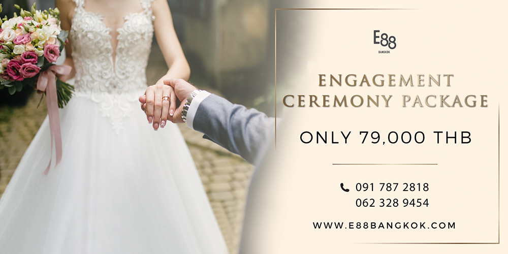 Engagement Ceremony Package Only 79,000 THB